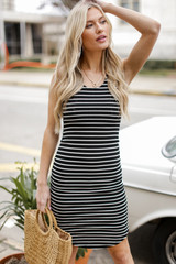 Black - Bodycon Dress