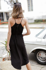 Midi Dress Back View