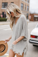 Oversized Summer Knit Side View