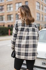 Cool Nights Boyfriend Flannel Back View