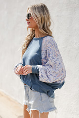 Teal - Relaxed Fit Top