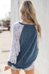 Relaxed Fit Top Back View