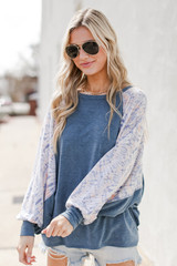 Relaxed Fit Top Front View