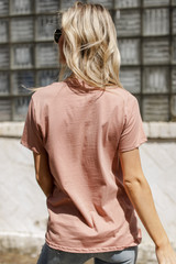 Adventure Vintage Washed Graphic Tee Back View