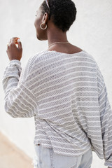 Lightweight Cardigan Back View