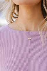 Gold - Butterfly Necklace