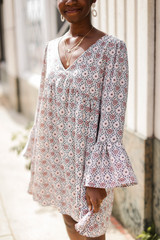 Ivory - Floral Babydoll Dress from Dress Up