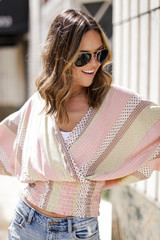 Blush - Smocked Floral Top from Dress Up