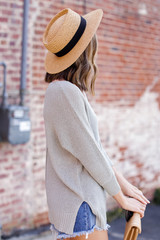 Feel The Breeze Knit in Sage Side View