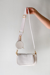 White - Double Bag Crossbody from Dress Up