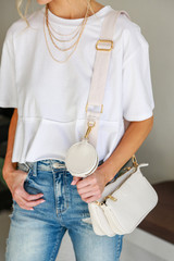 Double Bag Crossbody Front View
