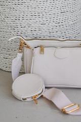 Close Up of a Double Bag Crossbody