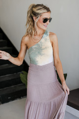 Sage - Tie-Dye Bodysuit from Dress Up