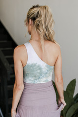Tie-Dye Bodysuit Back View