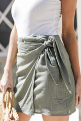 Olive - Wrap Skirt from Dress Up