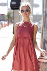 Marsala - Babydoll Dress from Dress Up