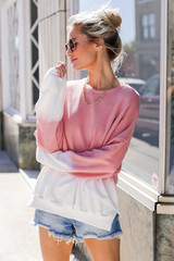 Blush - Ombre Pullover from Dress Up