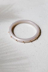 Grey - Studded Bangle from Dress Up
