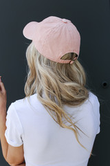 Greenville Summer Cities Hat in Blush Back View