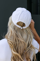 Greenville Summer Cities Hat in White Back View