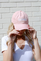 Charleston Summer Cities Hat in Blush Front View