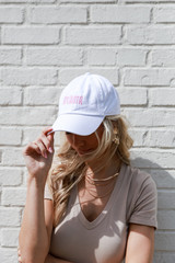 Atlanta Summer Cities Hat in White Front View