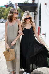 Models wearing Tiered Maxi Dresses