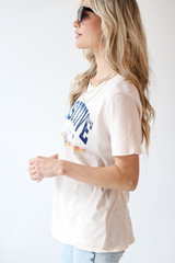 Positive Vibes Graphic Tee Side View