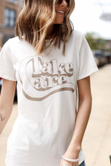 Ivory - Take Care Graphic Tee from Dress Up
