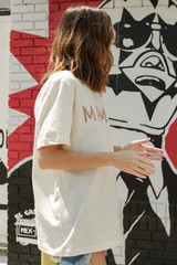 Ivory Mama Graphic Tee Side View