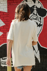 Ivory Mama Graphic Tee Back View