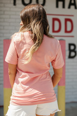 Peach Mama Graphic Tee Back View
