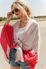 Color Block Kimono from Dress Up