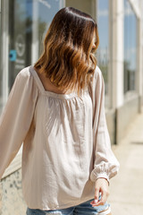 Square Neck Blouse Side View