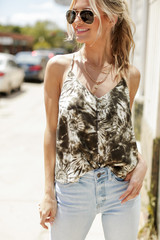 Olive - Tie-Dye Tank from Dress Up