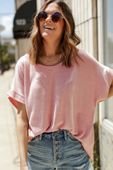 Oversized Tee Front View