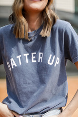 Navy - Batter Up Graphic Tee from Dress Up