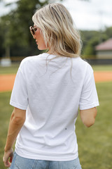 Play Ball Graphic Tee Back View