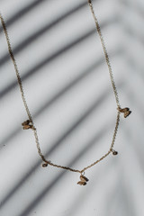 Gold - Butterfly Charm Necklace from Dress Up