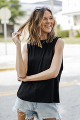 Black - Muscle Tank from Dress Up