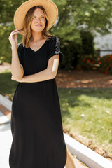 Black - Jersey Maxi Dress from Dress Up