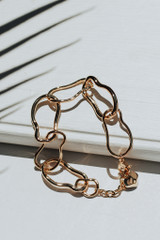 Gold - Chainlink Bracelet from Dress Up
