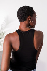Everyday Tank in Black Back View