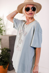 Model wearing the Wildish Things Graphic Tee