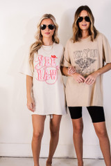 Ivory - Yeehaw Graphic Tee from Dress Up