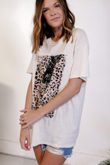 Leopard Lightning Bolt Graphic Tee from Dress Up
