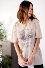 Free Spirit Graphic Tee Front View