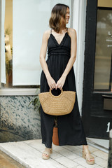 Black - Ruffled Jumpsuit from Dress Up