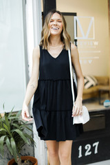 Black - Tiered Dress from Dress Up