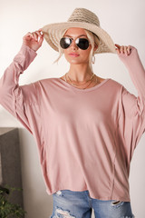 Blush - Oversized Tee from Dress Up
